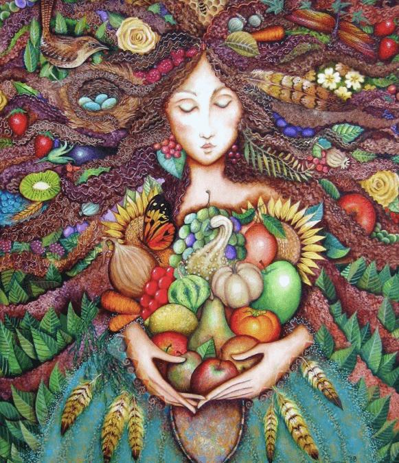 La madre eterna…
